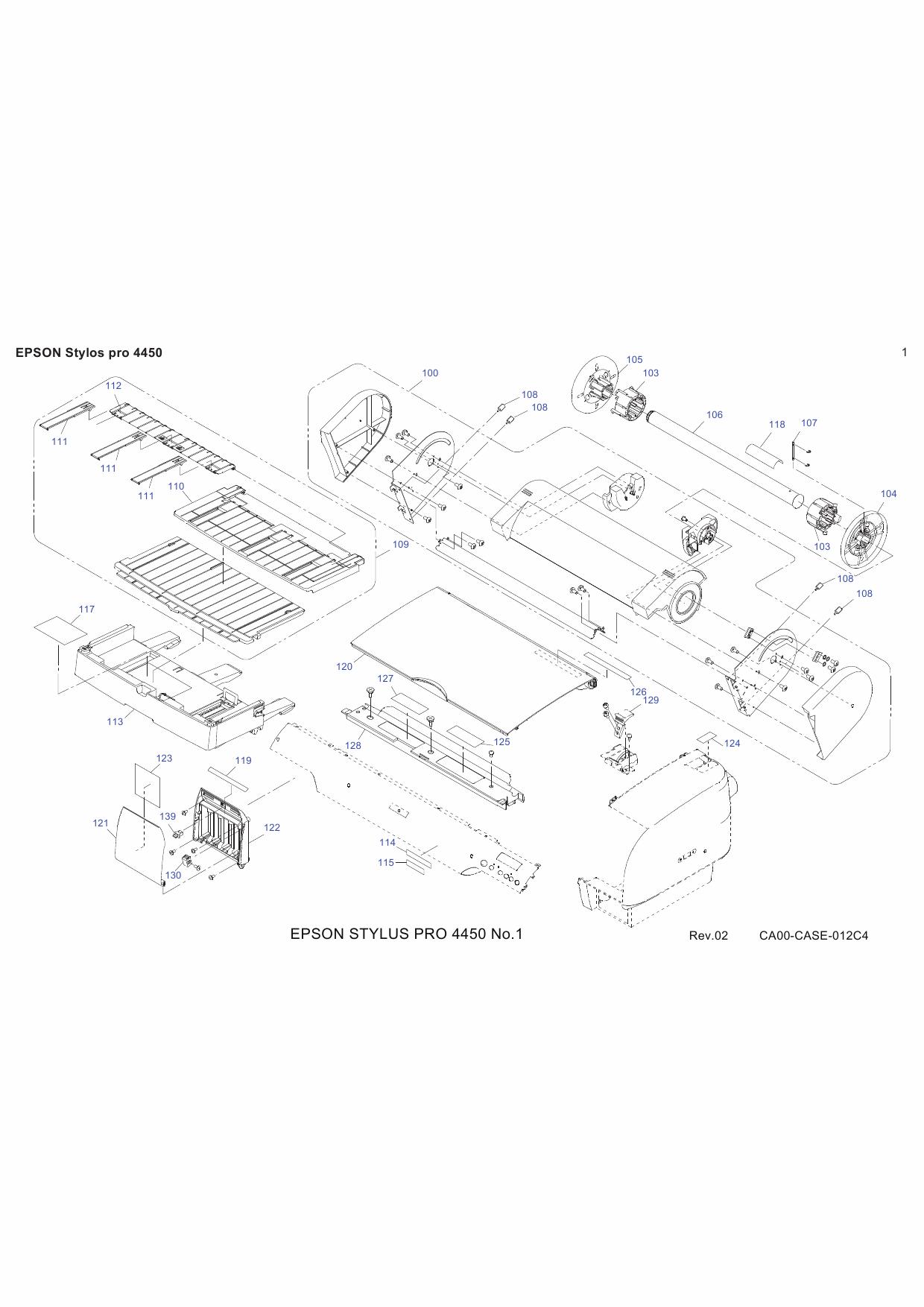 Epson 4880 c Service Manual Manual